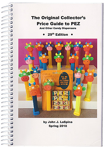 PEZ - Books - The Original Collector's Price Guide to PEZ - 29th Edition