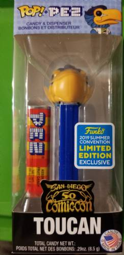 PEZ - Funko POP! - Ad Icons - SDCC - Toucan