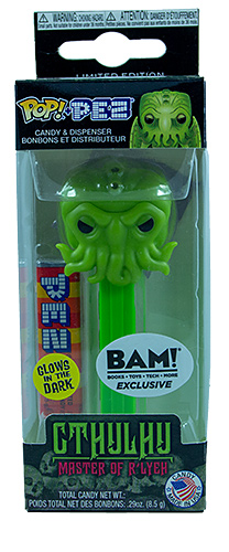 PEZ - Books - Books-A-Million Exclusive - Cthulhu (GITD)