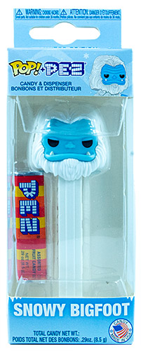PEZ - Myths - Bigfoot - Snowy