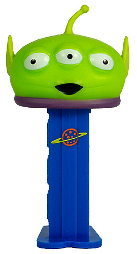 PEZ - Disney Movies - Toy Story - Squeeze Toy Alien - Mini