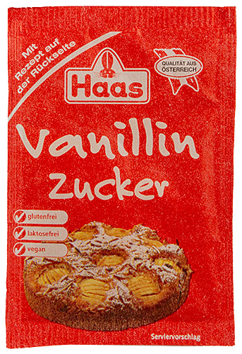 PEZ - Haas Food Products - Baking - Vanillinzucker - 8g