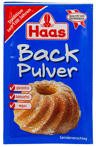 PEZ - Haas Food Products - Baking - Backpulver - 16g