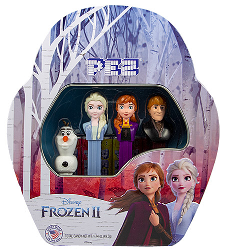 PEZ - Disney Movies - Frozen - Frozen II Tin