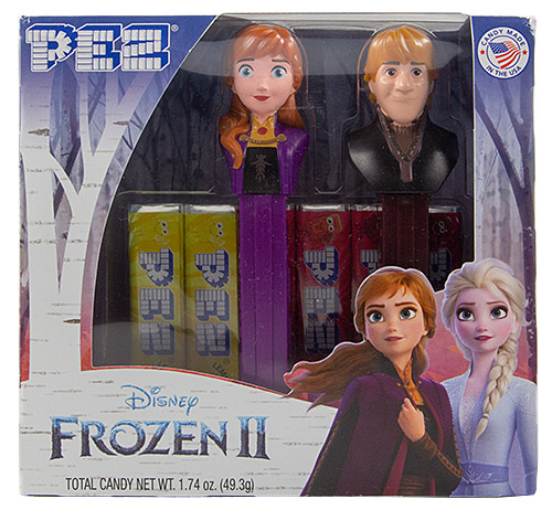 PEZ - Disney Movies - Frozen - Anna B & Kristoff Twin Pack