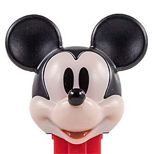 PEZ - Ultimate Couple - Mickey Mouse - red lips - K