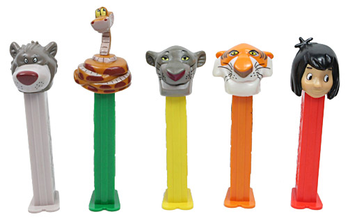 PEZ - Disney Movies - Jungle Book - Mowgli - Pink Face - A