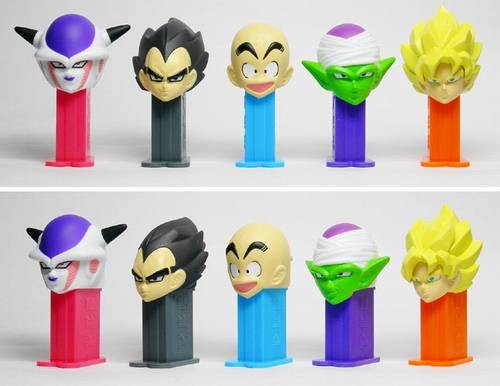 PEZ - Mini PEZ - Dragon Ball Z 1 #21 - Frieza (first form)