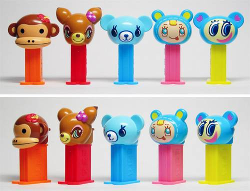 PEZ - Mini PEZ - Junior City 1 #14 - Pom Ponette - A