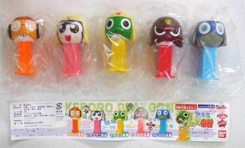 PEZ - Mini PEZ - Keroro Gunsou 1 #17 - Keroro Gunsou - Open Eyes
