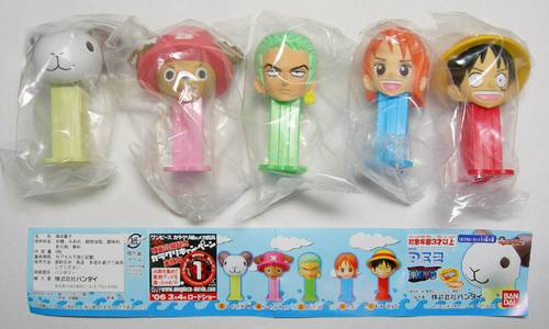 PEZ - Mini PEZ - One Piece 1 #25 - Nami